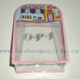 Punctual Delivery Gift PVC Printing Cosmetic Pouch (SGS RoHS) for Nail Polish Packaging