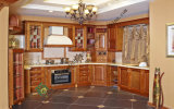 2015 Italian Style Solid Wood Kitchen Cabinet (zs-314)