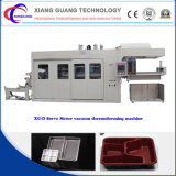 Xg-D Servo Motor Feeding and Stretching Disposable Plastic Forming Machine