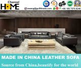 Best-Selling Commercial Geniune Leather Sofa for Living Room (HC3011)
