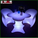 Glowing Furniture Set Night Club Lighting Illuminated LED Table
