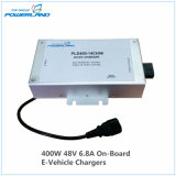 400W 48V 6.8A on Board Battery Charger for Electric Vehicle