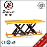 Jeakue High-Quality Immovable 2000kg Heave Duty Electric Lift Table with Large Platform