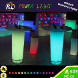 Bar Furniture Illuminated LED Cylinder Table