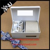 Perfect Knot Handmade Silk Woven Gift Cufflink Tie Set