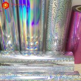 Gloss Color BOPP Thermal Lamination Holographic Film for Paperbag