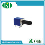 9mm Linear Roatry Potentiometer with 4 Gang Wh9011bp-4