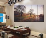 Five Panels Wall Canvas Decorative Scenery Painting Crafts Natural Landscape Printing