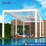 Pergola Gazebo with Adjustable Roof Louvers