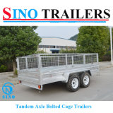 Wholesale Low Price Farm Cage Trailer