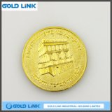 Promotion Gift Craft Custom Gold Coin Metal Medal Challenge Coin