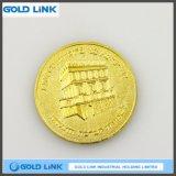 Promotion Gift Craft Custom Gold Coin Metal Medal Souvenir Coin