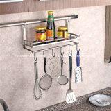 Stainless Steel Multi-Functional Kitchen Utensil Rack