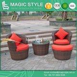 Outdoor Leisure Sofa Set Rattan Sofa with Cushion (Magic Style)
