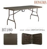 6FT Folding in Half Plastic Table Garden Furniture
