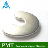 N48h U Shape Rare Earth Magnet with Neodymium Praseodymium