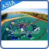 Inflatable Floating Water Park, Lake Aqua Water Park Inflatables, Inflatable Beaches Water Park