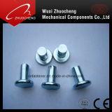 Stainless Steel Thin Flat Head Half-Hollow Rivets DIN7338
