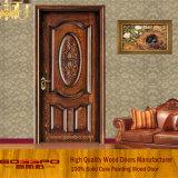 Latest Design Interior Single Leaf Wooden Door (GSP2-009)