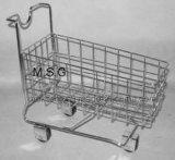 European Heavy Load 200kgs Steel Supermarket Shopping Cart Shopping Trolley
