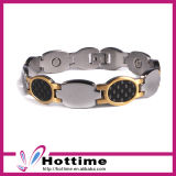 Classic Design Carbon Fiber Bracelet for Silver Color (CP-JS-BL-151)