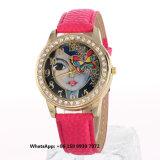 Wonderful Pretty Quartz Women′s Watch with Genuine Leather Strap Fs633