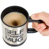 Automatic Mixing Stainless Steel Self Stirring Electric Tea Coffee Mug