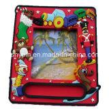 Soft PVC Christmas Magnet Photo Frame 3D