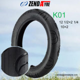 10inch Small Low Speed Rubber Tyre for Children Scooter with European Standard