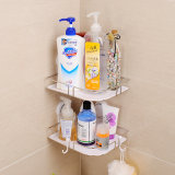 Bt041-Suction-Cup Bathroom Stainless Steel Shelf