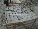 Light Grey G603 Cube Stone on Net or Mesh