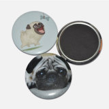 Promotional Animal Round Cartoon Style Fridge Magnets