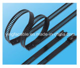 Ladder Barb Full Coated Stainless Steel Cable Tie