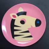 Customized 8inch Melamine Plate for Promotion Gift