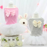 Design Cotton Dog Clothes Summer Lovely Bowtie Tutu Dress