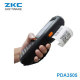 Zkc PDA3505 3G WiFi NFC RFID Rugged Android PDA Printer Handheld Barcode Scanner Terminal