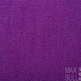 100% Machine Wash Wool Fabric for Autumn in Purple