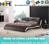 Home Furniture Classic Design Leather Bed (HC303)