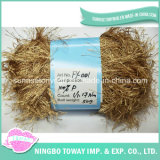 Polyester Hand Knitting Soft Eyelash Feather Yarn for Party Wears