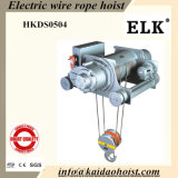 15ton Electric Wire Rope Hoist with Double Rails Trolley (HKDD1504)