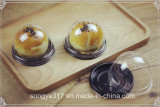 Golden Round Egg Yellow Crisp Plastic Packaging Box