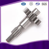 Carbon Steel Roller Drive Pinion and Transmission Gear Drive Shaft