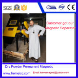 Dry Powder Permanent Magnetic Drum Separator, Plastic Material Iron Removal