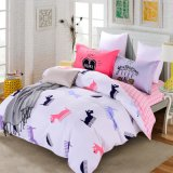 Bright Color Cotton Fabric Bedding Cotton Bed Sheet