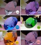 40mm Purple Decoration Crystal Diamond Paperweight