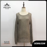 Women High Quality Fashion Wide Neck Sweater
