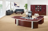 Modern High Quality L Shape Wooden CEO Executive Table (HF-MH09246)