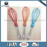 """12"""" FDA Certification Silicone Egg Whisk with PS Handle Se02"""