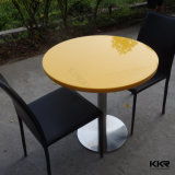 Anti-Pollution Artificial Marble Mcdonald Table and Chair