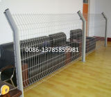 Welded Wire Mesh Fence/Curvy Mesh Fence/Euro Mesh Fence Factory